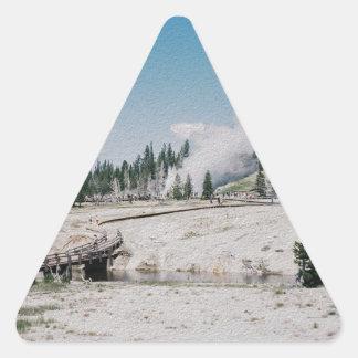 Grand Geyser Triangle Sticker