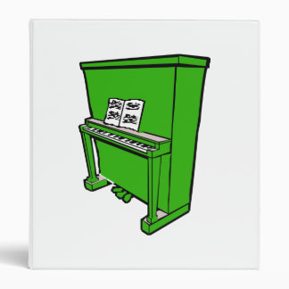 grand green upright piano with music.png binder