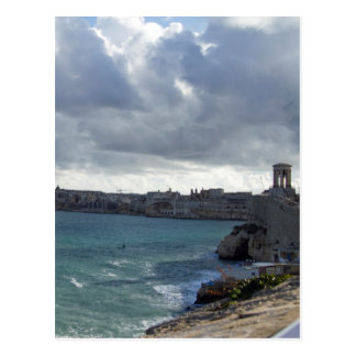 Grand Harbour, Valletta Postcard
