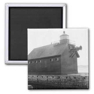 Grand Haven Lighthouse 2 2 Inch Square Magnet