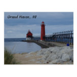 Grand Haven Lighthouses Post Cards