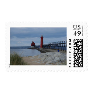 Grand Haven Lighthouses Stamps