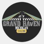 Grand Haven MI - Airport Runway Stickers