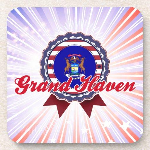 Grand Haven, MI Beverage Coasters