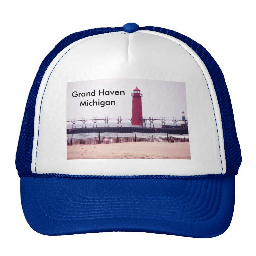 Grand Haven, MI  Lighthouse Hat