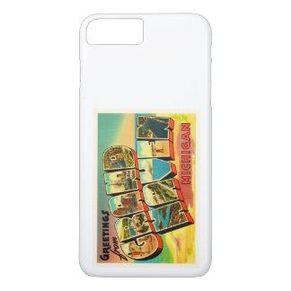 Grand Haven Michigan MI Vintage Travel Souvenir iPhone 7 Plus Case