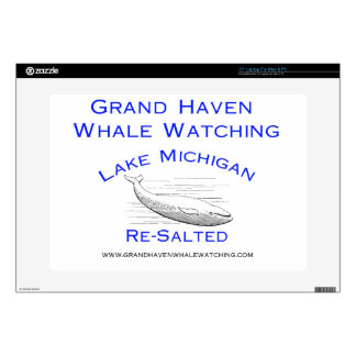 Grand Haven Whale Watching Gear Decal For Laptop