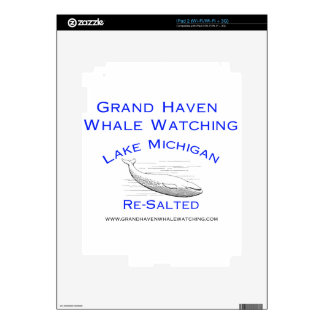 Grand Haven Whale Watching Gear Decals For The iPad 2