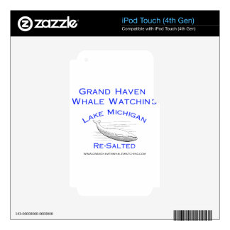 Grand Haven Whale Watching Gear Skins For iPod Touch 4G