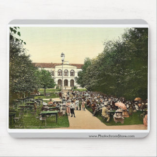 Grand Hotel and Kurgarten, Norderney, Germany clas Mouse Pad