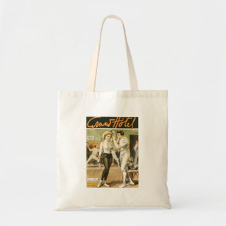Grand Hotel Fencing Poster Bag