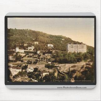 Grand Hotel, Grasse, France vintage Photochrom Mouse Pad