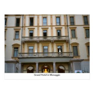 Grand Hotel in Menaggio Postcard