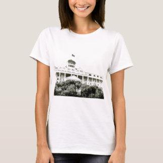 Grand Hotel, Mackinac Island, black and white T-Shirt