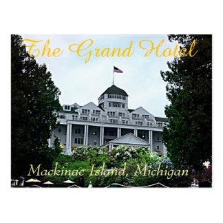 Grand Hotel Postcard