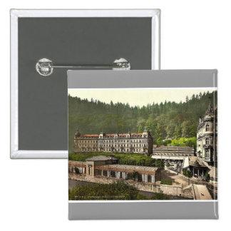 Grand Hotel Pupp, Carlsbad, Bohemia, Austro-Hungar Pinback Buttons