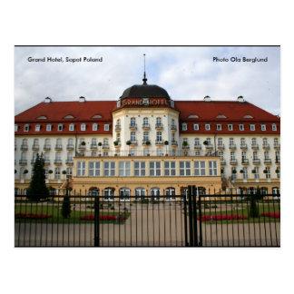 Grand Hotel, Sopot Poland, Photo ... Postcard
