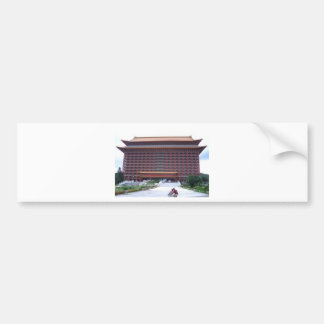 Grand Hotel, Taipei Bumper Sticker