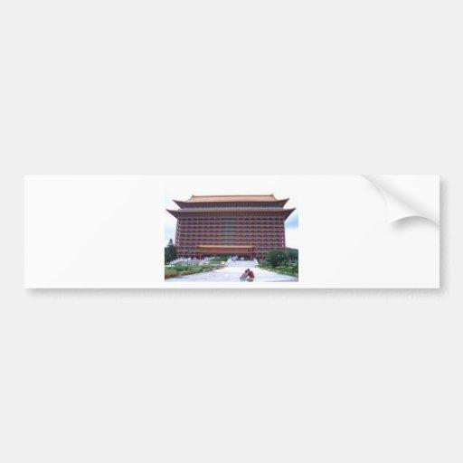 Grand Hotel, Taipei Car Bumper Sticker