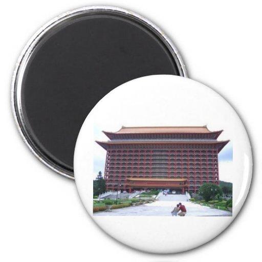 Grand Hotel, Taipei Fridge Magnet