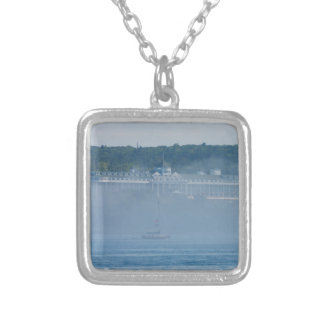 Grand Hotel Through The Fog Silver Plated Necklace