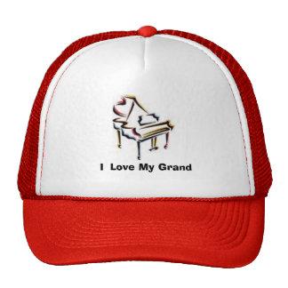 grand, I  Love My Grand Trucker Hat