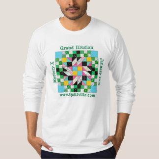 Grand Illusion Long Sleeve jersey shirt. T Shirt