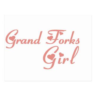 Grand Island Girl tee shirts Post Cards