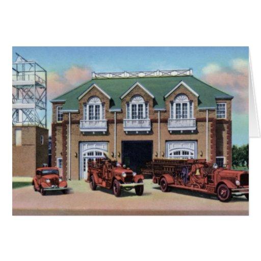 Grand Island Nebraska Fire Department Greeting Card