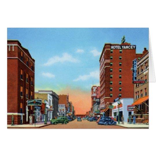 Grand Island Nebraska Locust Street Card