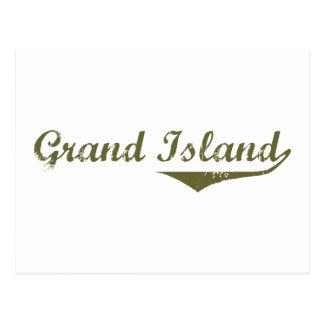 Grand Island Revolution t shirts Postcards