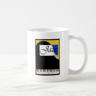 Grand Jazz Piano Classic White Coffee Mug