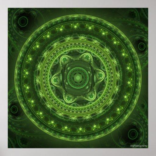 Grand Julia Green Poster