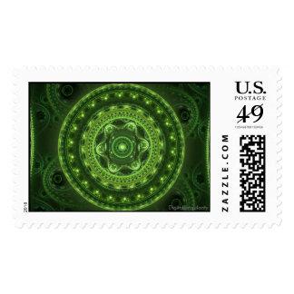 Grand Julia Green stamps
