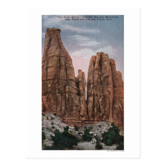 Grand Junction, CO - View of CO National Monumen Postcards