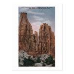 Grand Junction, CO - vista del monumento nacional Postal