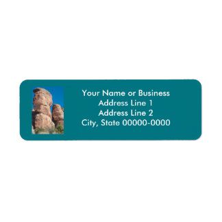 Grand Junction Colorado Return Address Label