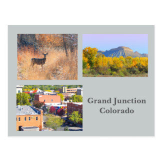 Grand Junction, Colorado Template Travel Postcard