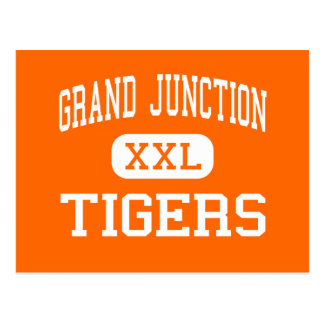 Grand Junction - Tigers - High - Grand Junction Post Cards