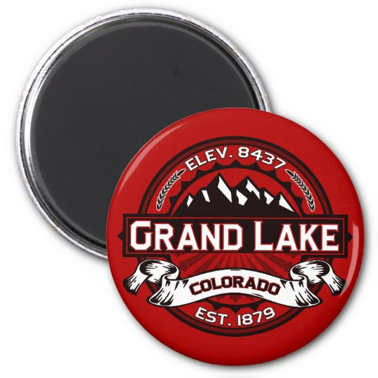 Grand Lake Color Magnet