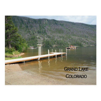 Grand Lake Colorado Postcard