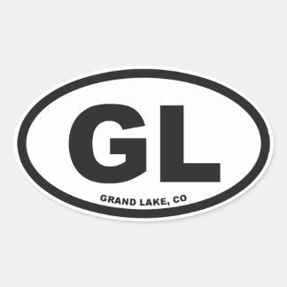 Grand Lake Oval Sticker