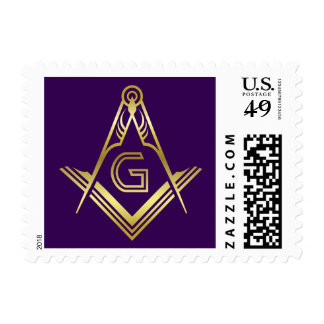 Grand Lodge Masonic Square & Compass Stamps