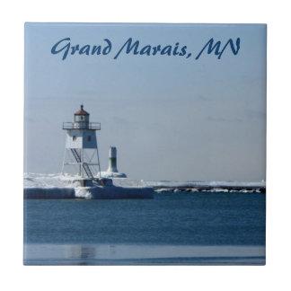 Grand Marais Harbor Tile
