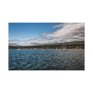Grand Marais Lake Superior Canvas Print