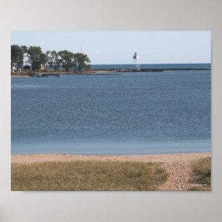 Grand Marais Lighthouse - Michigan Poster