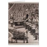 Grand Masonic Gathering in the Royal Albert Card