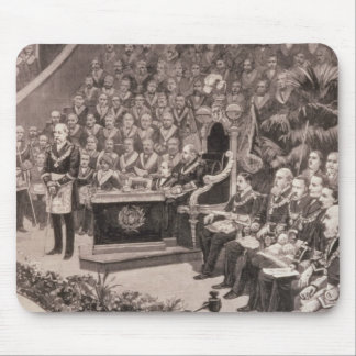 Grand Masonic Gathering in the Royal Albert Mouse Pad