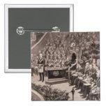 Grand Masonic Gathering in the Royal Albert Pinback Button