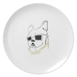 Grand Master Frenchie Plate